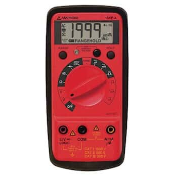 Amprobe 15XP-B Compact Digital Multimeter W/Noncontact Voltage and Logic Test