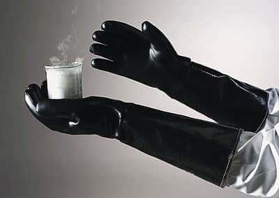 Ansell 19-026 214023 Heat-Resistant, Lined Neoprene Gloves, size 10, 26