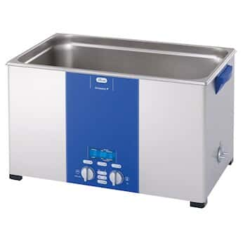 Elmasonic P300H Ultrasonic Cleaner with Heat and Variable Power, 7.5 gal.; 120 VAC