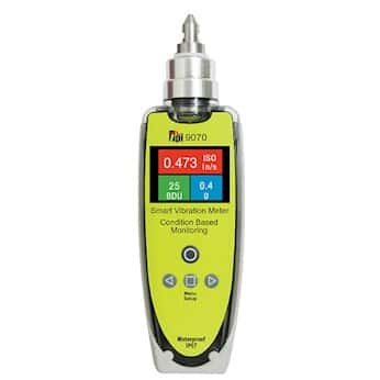 TPI 9070 Vibration Meter; Iso2/10 Hz to 1Khz, G2 Hz to 3 Khz