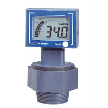 Kodiak Digital Ultrasonic Drum Level Gauge; Battery and 24 VDC Powered, 4-20 mA Out