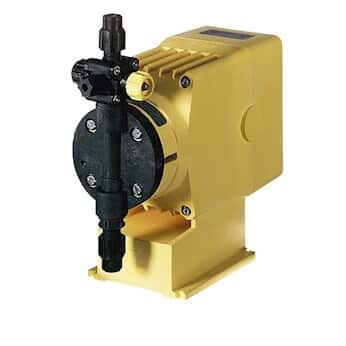 LMI C131-318 SI Manual control solenoid diaphragm metering pump, 8.0 GPH, 115 VAC
