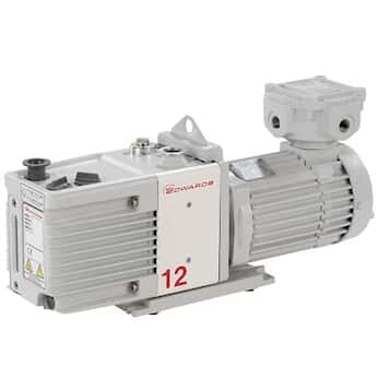 Edwards RV12 Two Stage Rotary Vane Pump; 115 to 230 V, 50/60 Hz, 1 phase (Factory set to 230 V for Europe)