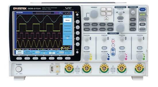 GW Instek GDS-3154 Oscilloscope, 4 Channel, 150 MHz