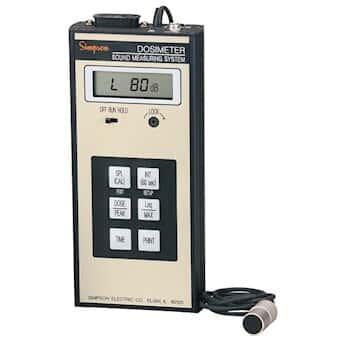 Simpson 897  12645 Universal Noise Dosimeter