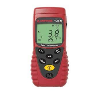 Amprobe TMD-10 Thermocouple Thermometer, Type J/K