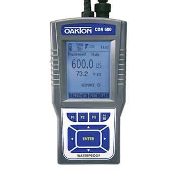 Oakton CON 600 Waterproof Conductivity/TDS Meter with NIST Calibration