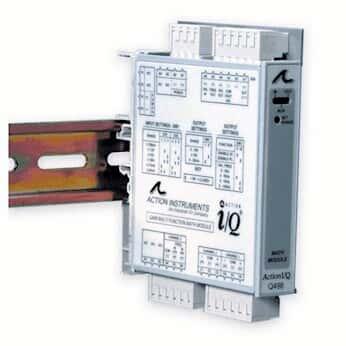 Eurotherm IQRL-2004 Rail AC Power Distribution Bus; 4 Modules
