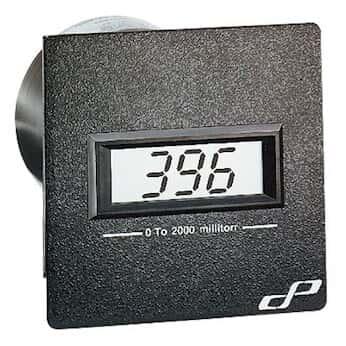 Cole-Parmer 1 to 2000 mTorr Pressure/Vacuum Meter for Pirani-Type Sensor