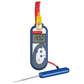 COMARK BT48KC Food Service Waterproof Thermocouple Thermometer with Bluetooth, Type-K