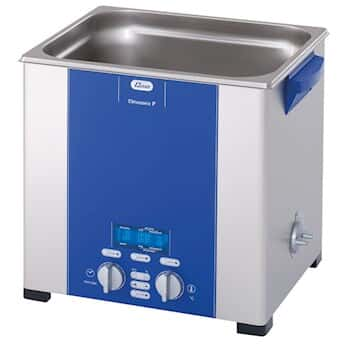 Elmasonic P70H Ultrasonic Cleaner with Heat and Variable Power, 2 gal.; 120 VAC