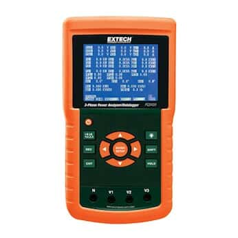 Extech PQ3450 Power Analyzer/Datalogger, 1200 A