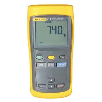 Fluke 51-2 60HZ Thermocouple Thermometer with Single Input