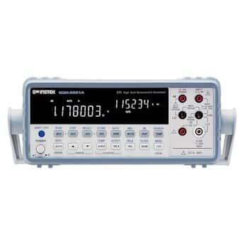 GW Instek GDM-8261A-OPT3 Multimeter, Benchtop, 6.5