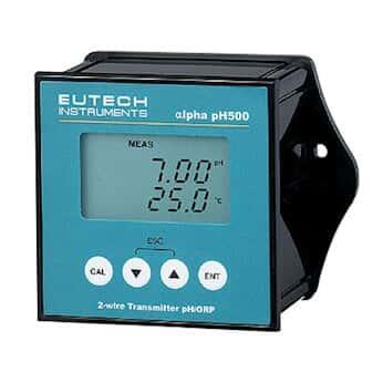 Oakton ECPHCTP0500 带显示器的 pH 500 双线 pH/ORP 变送器