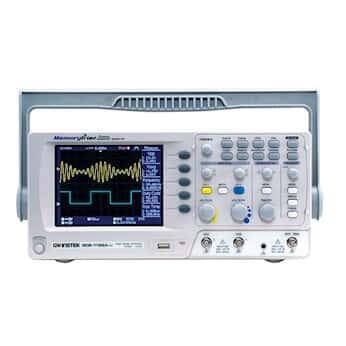 GW Instek GDS-1152AU Digital Storage Oscilloscope, 150MHz, 2-channel, Color Display