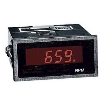 Monarch ACT1B-1-0-1-0-001 ACT1B Series Digital Panel Mount Tachometer, 100-240 VAC (1 pulse/rev)