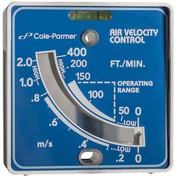 Cole-Parmer   Airflow Meter Vaneometer
