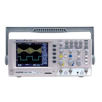 GW Instek GDS-1102AU Digital Storage Oscilloscope, 100MHz, 2-channel, Color Display