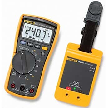Fluke 117/PRV240 Proving Unit Kit with 117 Multimeter