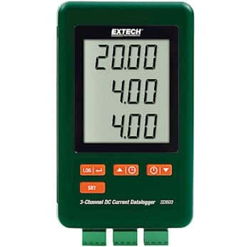 Extech SD900 Three-Channel DC Current Data Logger