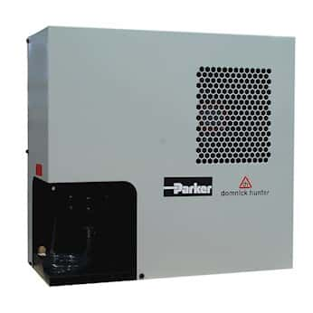 Parker Hannifin Refrigeration Dryer for Compressors, 10 SCFM nominal flow, 115 VAC, 60 Hz