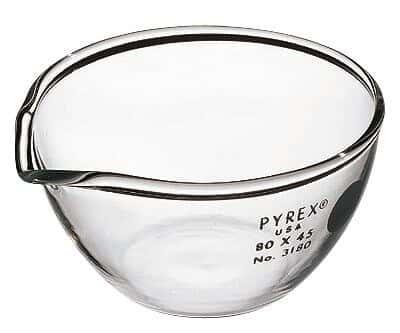 Pyrex 3180-105 Brand 3180 Evaporating Dish, 105 mm OD x 55 mm H; 290 mL, 1/Pk