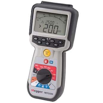 Megger MIT2500 Insulation Resistance Tester, 2.5 kV