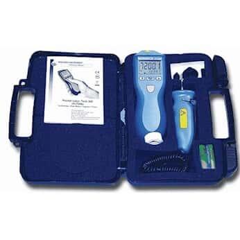 Monarch PLT200KIT Laser/Contact Pocket Tachometer Kit with RCA Kit