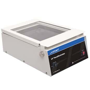 Stuart UV Transilluminator, 6 x 8 W Lamps, Antiglare, 254 nm, 20 x 24 cm Filter; 220 VAC, 50 Hz SA