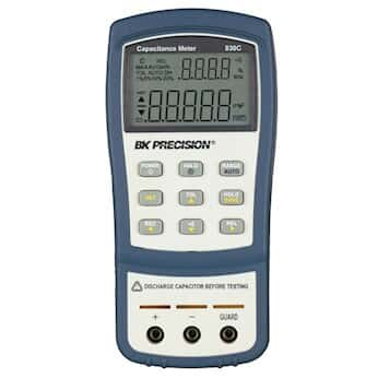 B&K Precision 830C Capacitance tester with test leads