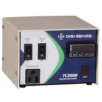 Digi-Sense 1-Zone Temperature Controller; Limit/Alarm, Type K, 120V/15A