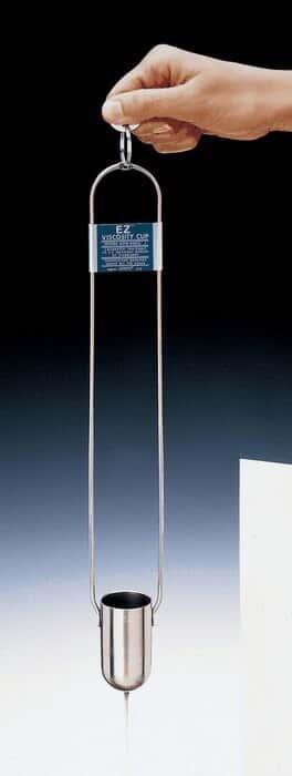 Gardco EZ4/C series viscosity cup #4 with certificate