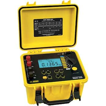 AEMC 6250 10A Digital Micro-Ohmmeter with DataView Software