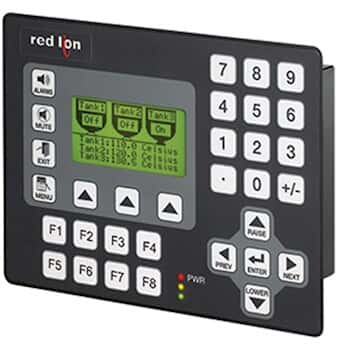 Red Lion G303M000 Graphic LCD Operator Interface, 3.2