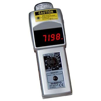 Shimpo DT-207LR Contact/Noncontact LCD Tachometer with 6