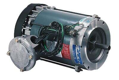 Explosion-Proof Single-Phase TEFC Motor, 56C, 0.25 HP/1800 rpm; 115/208-230 V