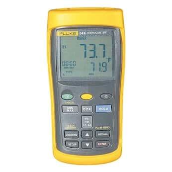 Fluke 54-2 B 60HZ Dual-Input Datalogging Thermocouple Thermometer