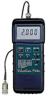 Extech 407860 Heavy Duty Vibration/Acceleration/Velocity/Displacement Meter