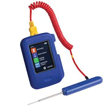 COMARK HT100/PK19 HACCP-Series Touch Data Logging Thermometer with Pk19 Penetration Probe