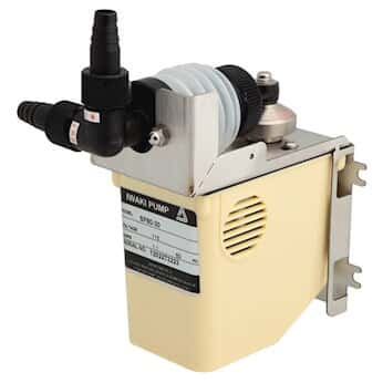 Polypropylene Dual-Bellows Metering Pump; 4200 mL/min or 5 psi, 230 VAC