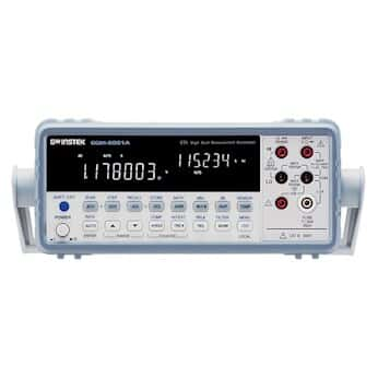 GW Instek GDM-8261A-OPT2 Multimeter, Benchtop, 6.5