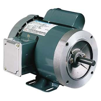 General-purpose Single-phase TEFC/ODP NEMA Type C-face Motor, 1/2 Hp, 1800 RPM