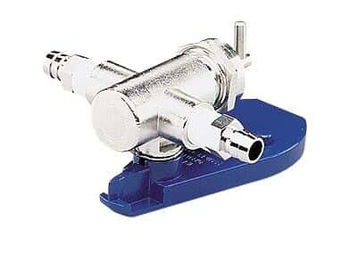 Ismatec Valveless Piston Pump Head, Series Q , Ceramic/SS/Carbon, 0.32 mL/rev