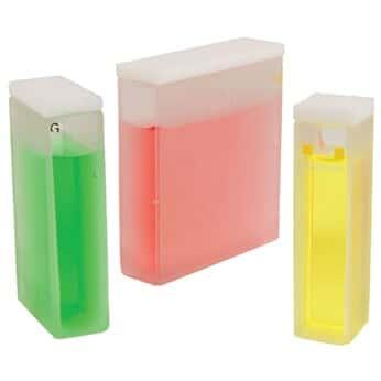 Jenway Disposable Plastic Cuvette, visible spectrum, 4.5 mL, 10 mm path; 500/pk