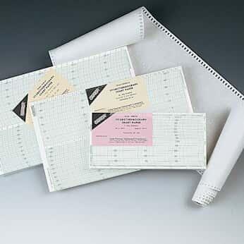 Oakton Hygrothermograph Chart Recorder Paper; 14-122F, 1 Day, 15 Minute; 100/Pk