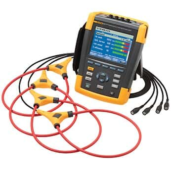 Fluke 438-II Power Quality and Motor Analyzer with Connect and iFlex Current Probe