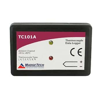MadgeTech TC101A-MP Thermocouple Temperature Extended-Life Data Logger