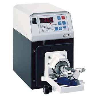 Ismatec High-Pressure Piston Pump, Series Q Head, 0.64 to 77 mL/min, 100 psi, SS/C; 230 VAC