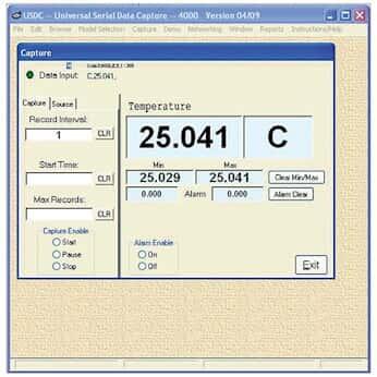 带 USB 电缆的数据采集软件; 电缆 3